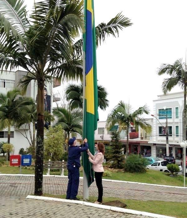Ituporanga realiza solenidade de abertura da Semana da Pátria