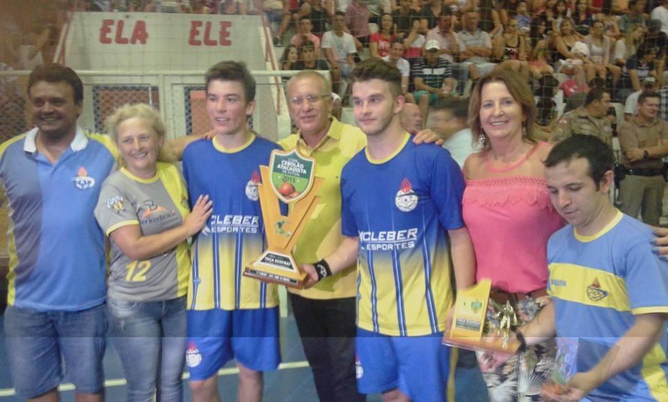 Definidos os campeões da Copa Cebolão Atacadista de Futsal 2015
