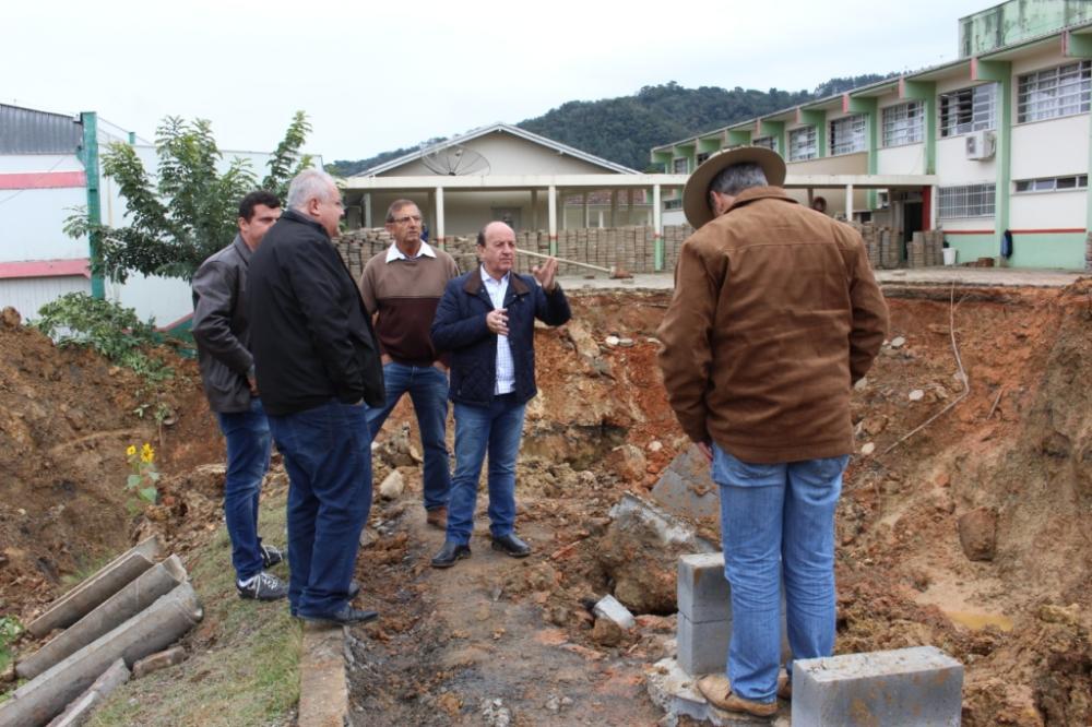Obra em galeria pluvial em Ituporanga será realizada através de uma parceria