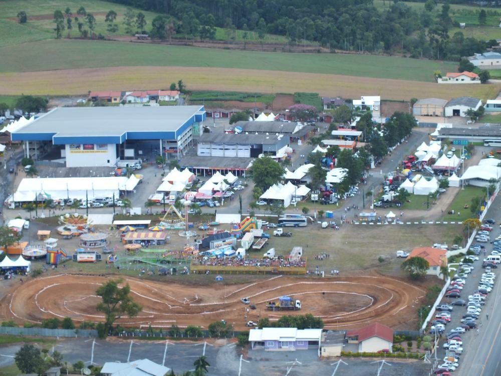 Parque da Cebola é afetado pelas fortes chuvas e está interditado