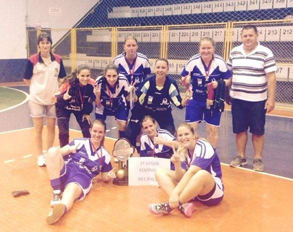 Futsal Feminino de Ituporanga é campeão da Copa da Integração