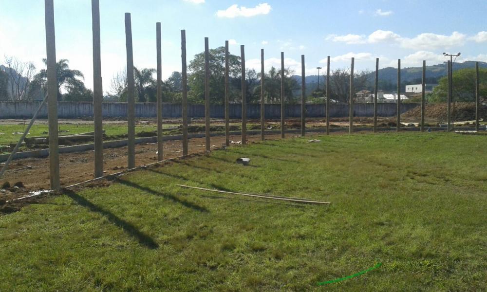 Obras do Parque da Cidade de Ituporanga estão com 40% concluídas