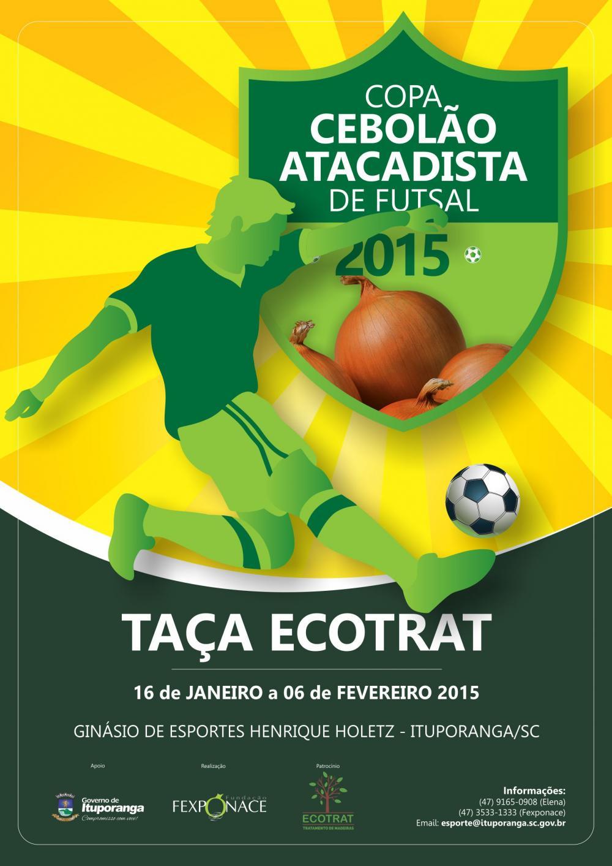 Congresso Técnico define chaves e categorias para a Copa Cebolão de 2015
