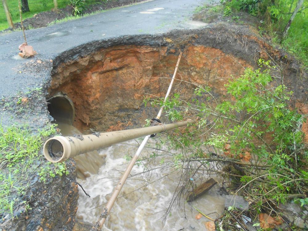 Ituporanga é a primeira cidade a contabilizar os prejuízos deixados pela chuva