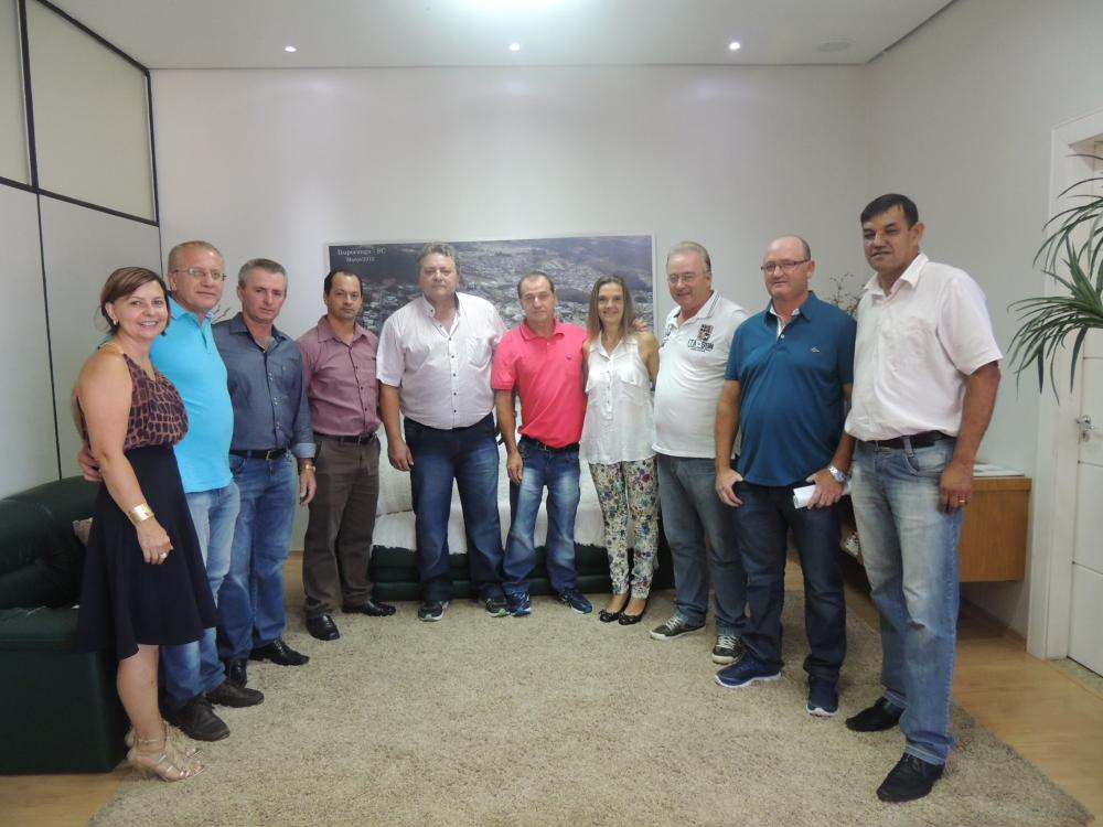 Empossados novos secretários de Ituporanga