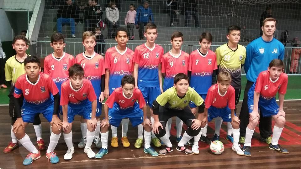 Futsal sub-13 de Ituporanga joga neste final de semana pelo Campeonato Estadual