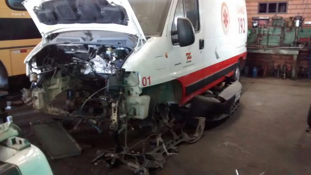 Prefeitura de Ituporanga pagará conserto de ambulância do SAMU