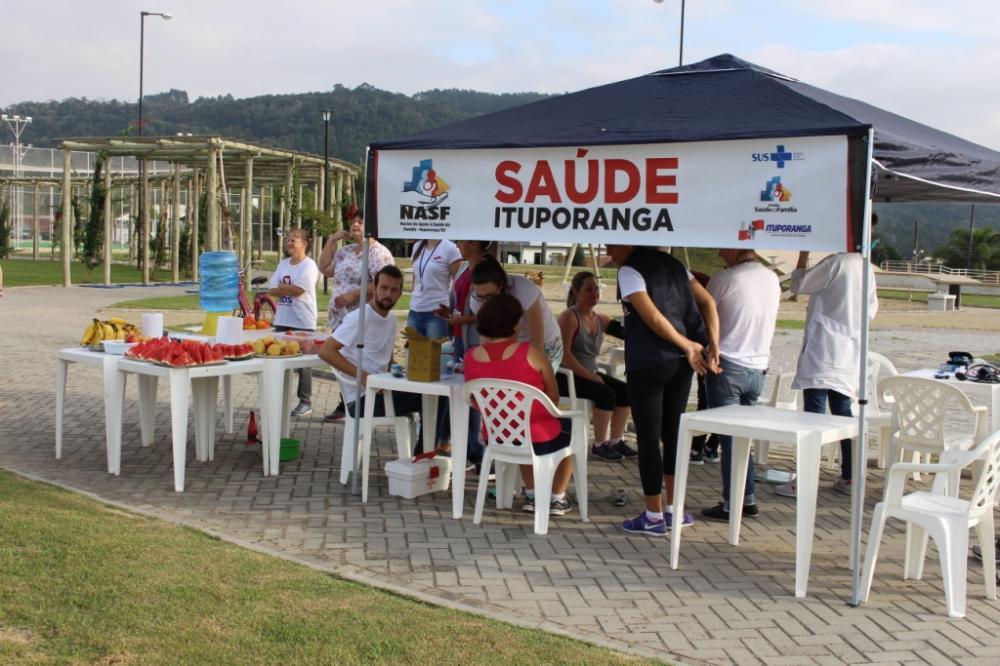 Ações de promoção da qualidade de vida foram realizadas pela equipa da Saúde de Ituporanga