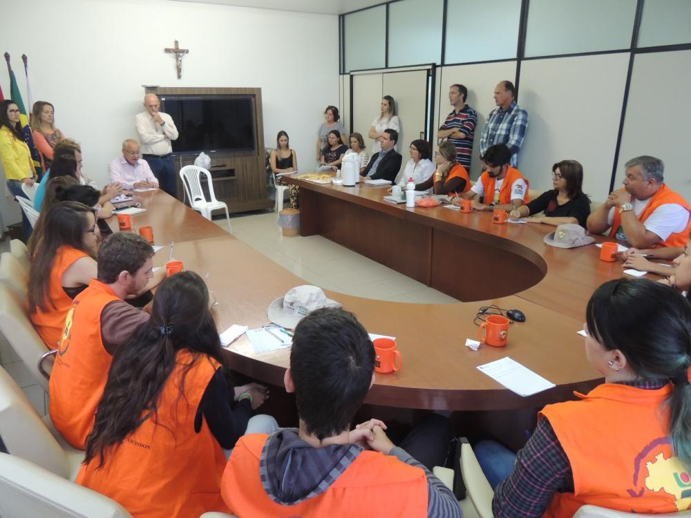 Saúde, Educação e Meio Ambiente de Ituporanga receberão ações do Núcleo Extensionista Rondon
