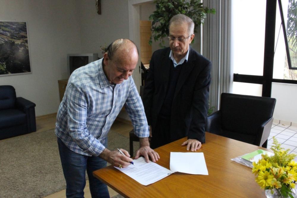 Município de Ituporanga renova convênio com Unidavi para cursos oferecidos pelo Senai