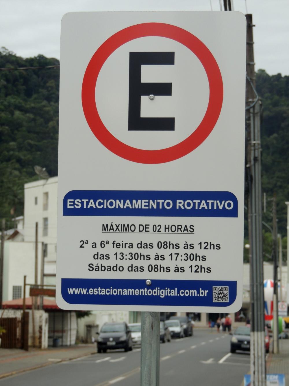 Estacionamento Rotativo de Ituporanga começa a valer na segunda-feira