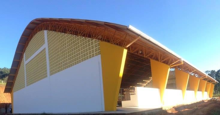 Prefeitura de Ituporanga inaugura Quadra Esportiva no C.E. Pedro Julio Muller