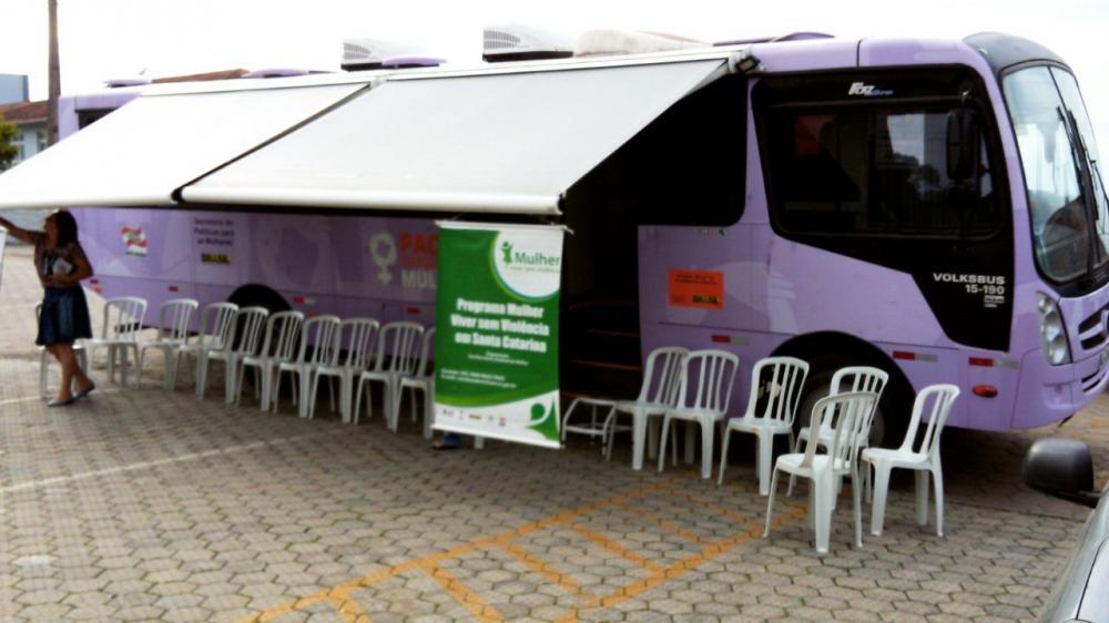 """Ituporanga recebeu o Programa """"Mulher: Viver sem Violência"""""""