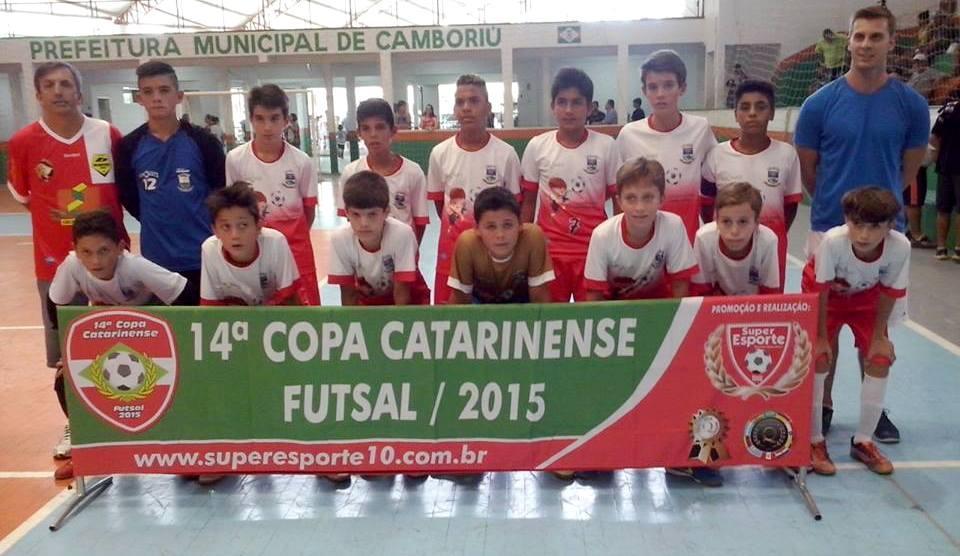 Ituporanga é a 4º melhor equipe da Copa Catarinense de Futsal