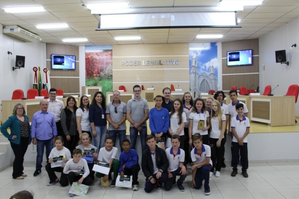 Administração Municipal de Ituporanga apóia Recicla CDL nas escolas do município