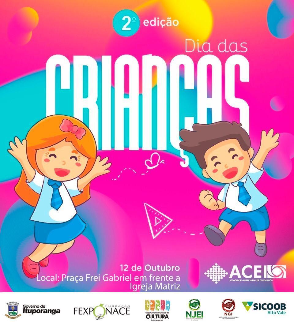 Associação Empresarial prepara Dia da Criança ACEI  em parceria com a prefeitura de Ituporanga