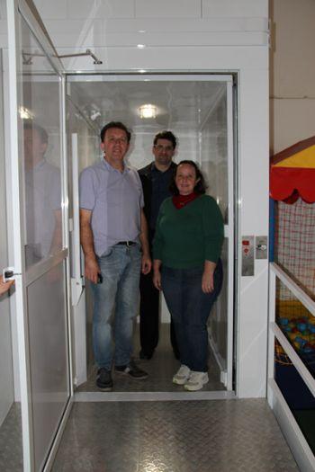 APAE de Ituporanga instala elevador de acesso para alunos