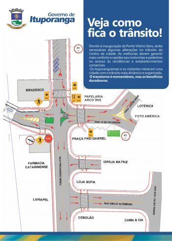 Demutran alerta para mudanças no trânsito em Ituporanga