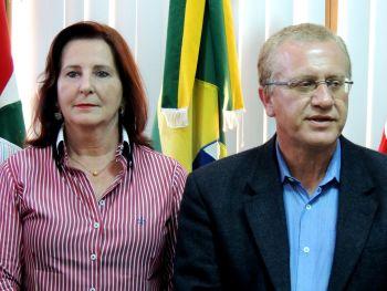 Vice-prefeita Angelita assume o executivo de Ituporanga
