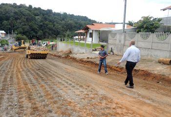 Mais duas ruas serão pavimentadas em Ituporanga