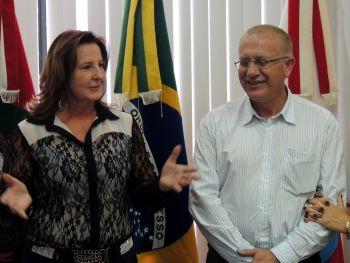 Angelita assume a prefeitura de Ituporanga
