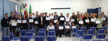 SENAI realiza formatura de cursos oferecidos pelo Pronatec em Ituporanga