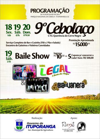 Festa do Agricultor e Motorista pretende reunir grande público em Ituporanga