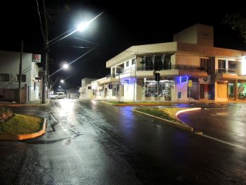 Prefeitura de Ituporanga realiza revitalização da iluminação pública