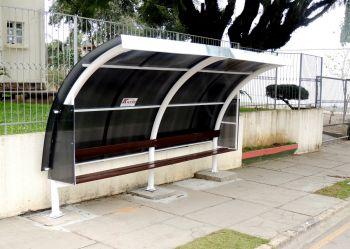 Ituporanga recebeu 10 novos pontos de ônibus