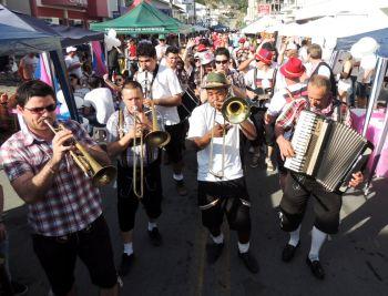 Mais de 2 mil pessoas prestigiaram Stammtisch em Ituporanga