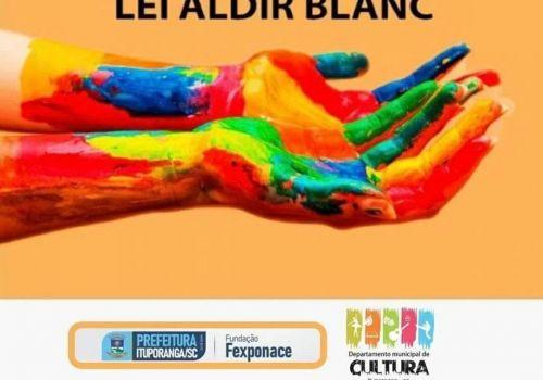 Publicada lista com artistas premiados pela lei Aldir Blanc em Ituporanga