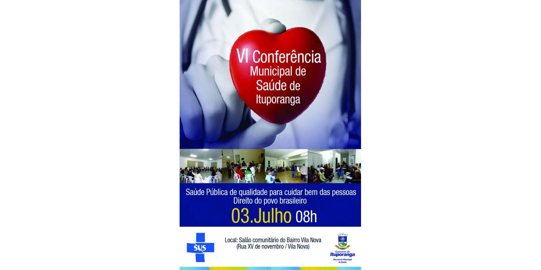 Prefeitura de Ituporanga realizará Conferência Municipal de Saúde