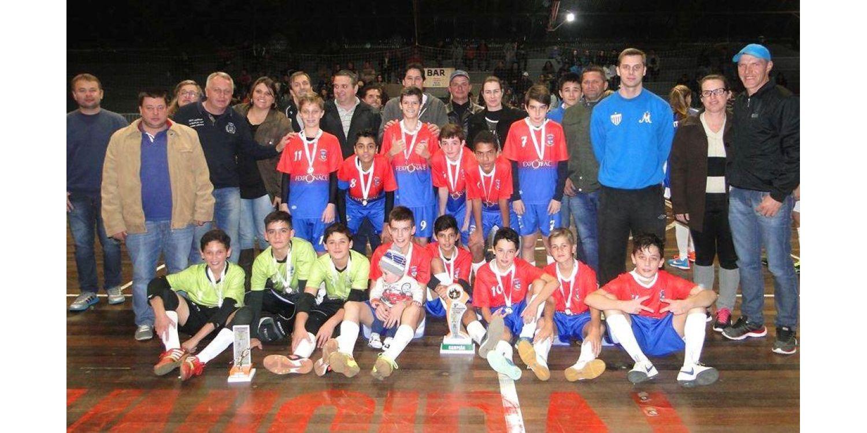 Futsal de Ituporanga conquista título da Copa Integração de Futsal