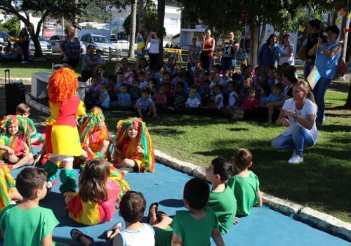 Projeto Praça Literária promove tarde de diversão e conhecimento em Ituporanga