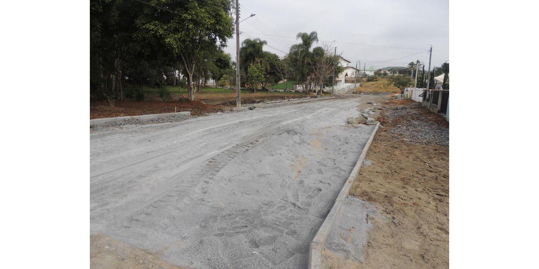 Ituporanga: Inicia pavimentação da Rua Philomena Koerich