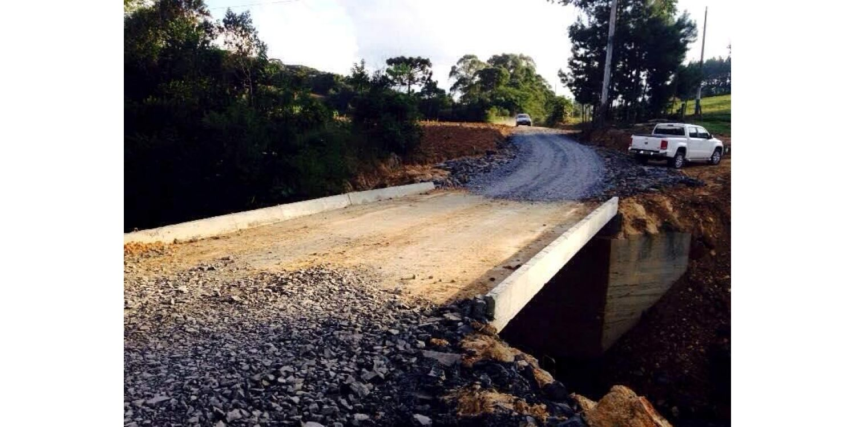 Comunidade de Rio Bonito é contemplada com nova ponte