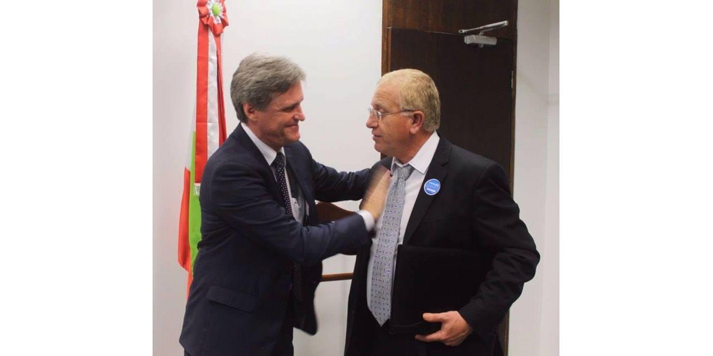 Em viagem à Brasília Prefeito de Ituporanga garante liberação de recursos