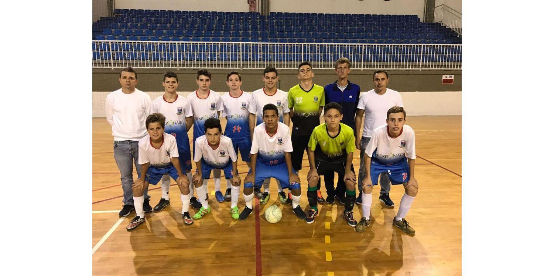 Sub-15 do Futsal Masculino vence mais uma e mantém 1ª colocação na classificação da chave