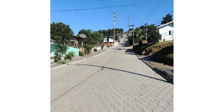 Rua do bairro Gabiroba será inaugurada pela Prefeitura de Ituporanga