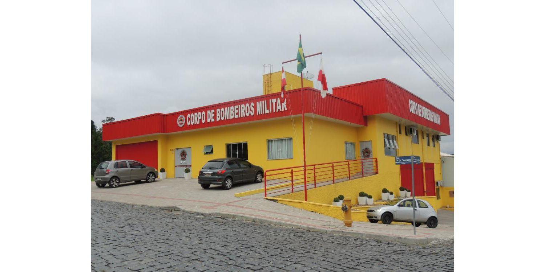 Ampliação do prédio do Corpo de Bombeiros de Ituporanga será inaugurada