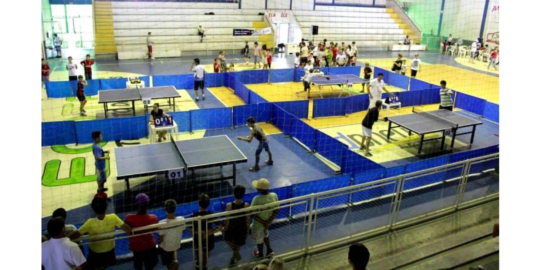 Prefeitura de Ituporanga incentiva prática de tênis de mesa
