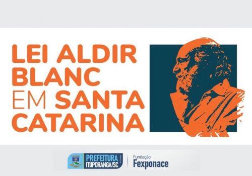 Abertas inscrições para o Edital Aldir Blanc SC 2021