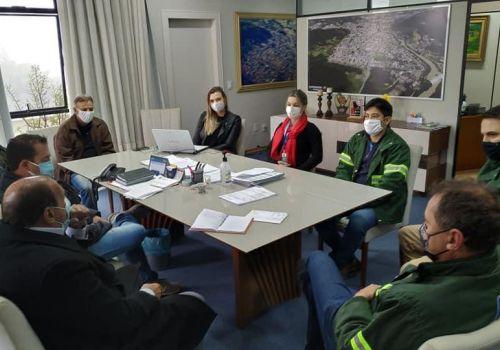 Administração busca junto a Casan atendimento para famílias da Barra do Rio dos Bugres e Ilha Grande