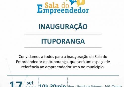 Administração de Ituporanga inaugura nesta sexta a Sala do Empreendedor