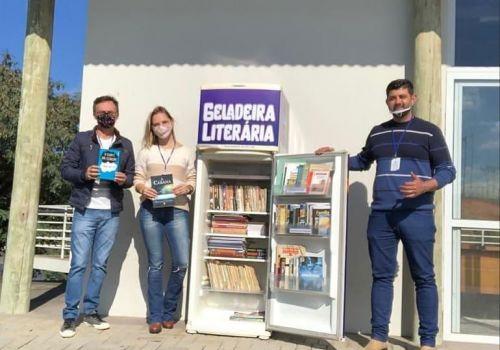 Administração de Ituporanga incentiva a leitura por meio do Projeto Geladeira Literária