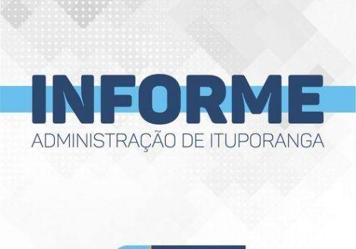 Administração de Ituporanga informa classificação final de Chamada Pública
