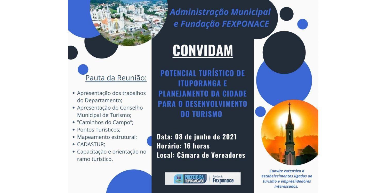 Administração de Ituporanga promove encontro para tratar sobre o desenvolvimento do turismo