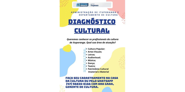 Administração  inicia a elaboração do Diagnóstico Cultural de Ituporanga