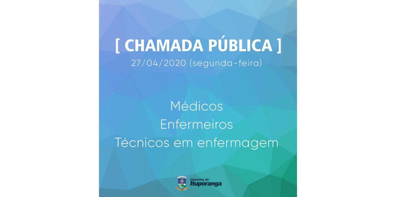 Administração Municipal  contrata Médicos, Enfermeiros e Técnicos em enfermagem
