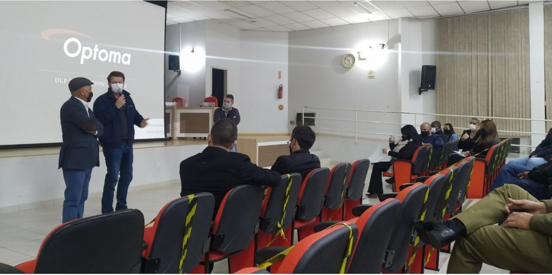 Administração recebe ACEI para esclarecer estudos e mudanças no trânsito em Ituporanga